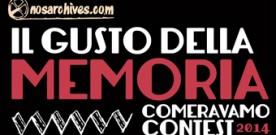 """FESTIVAL """"IL GUSTO DELLA MEMORIA"""" – III edizione"""